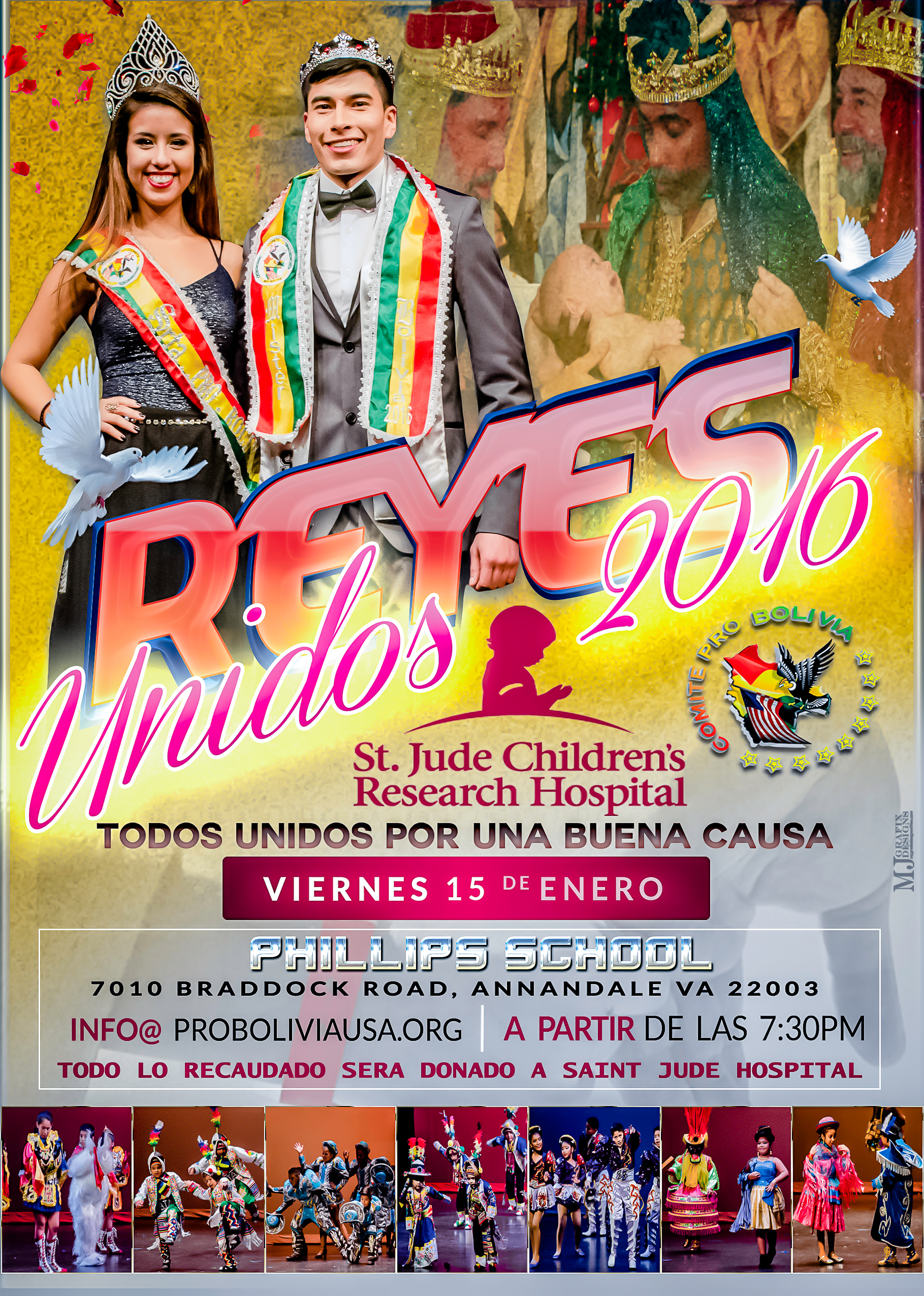 Reyes Unidos Event: January 15, 2016